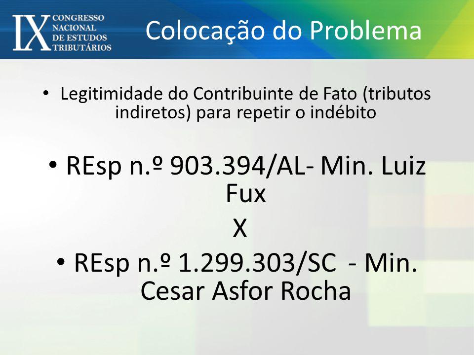REsp n.º 903.394/AL- Min. Luiz Fux X