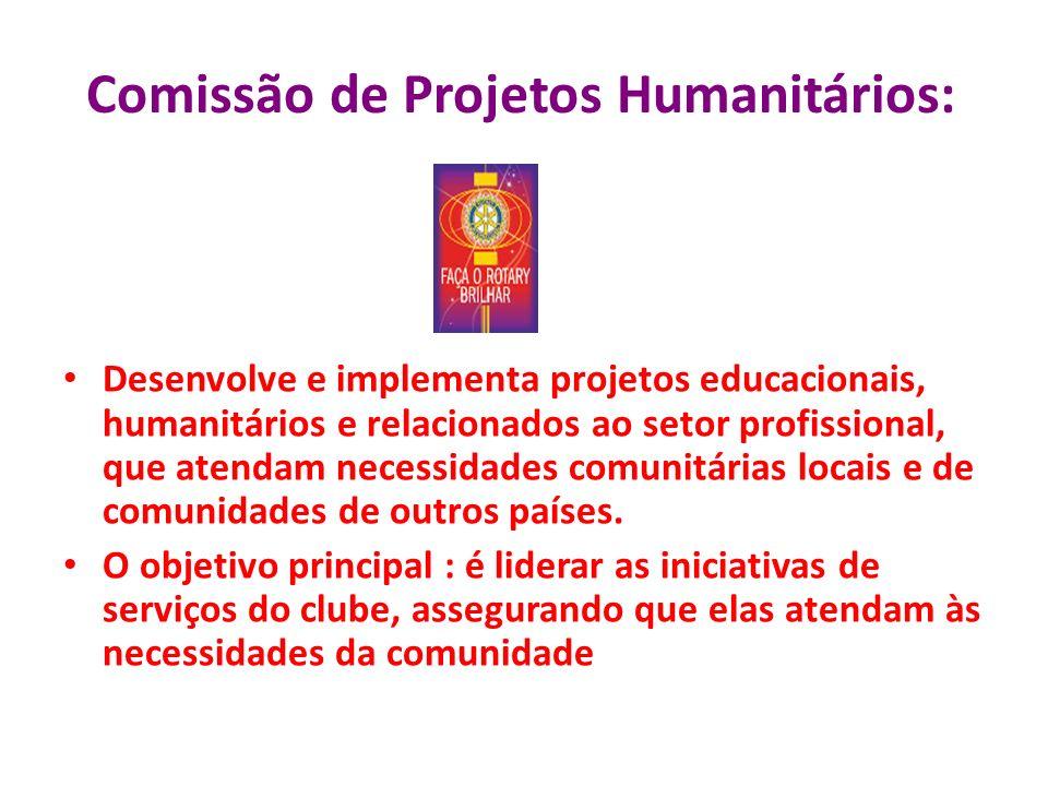 Comissão de Projetos Humanitários:
