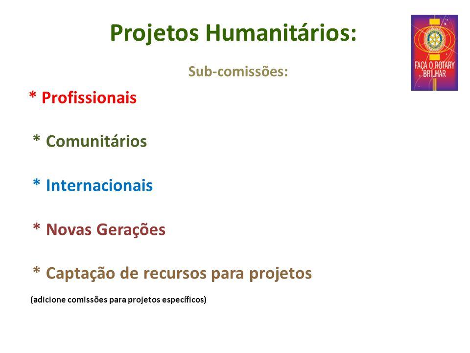 Projetos Humanitários: