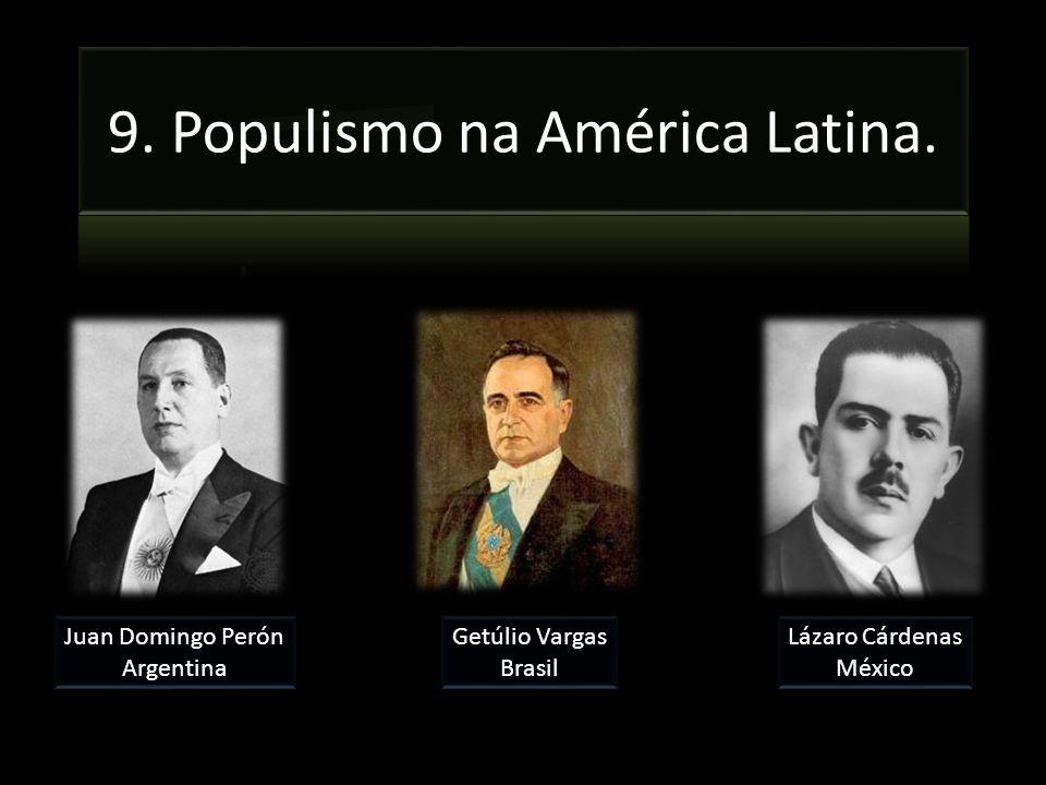9. Populismo na América Latina.