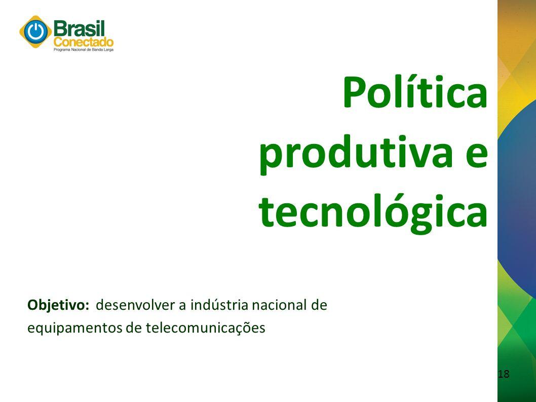 produtiva e tecnológica
