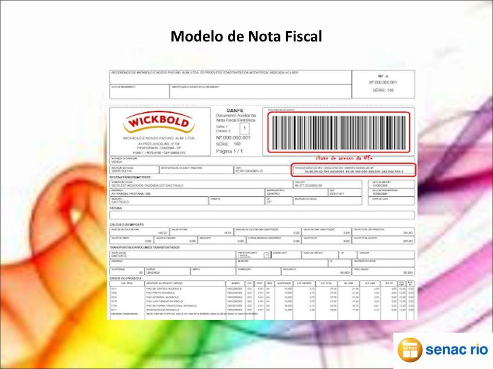Modelo de Nota Fiscal