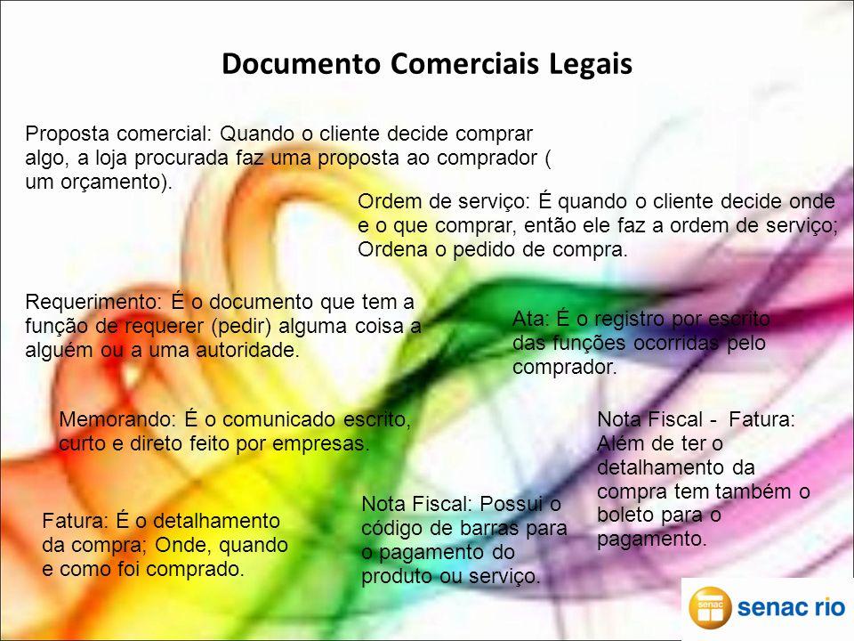 Documento Comerciais Legais