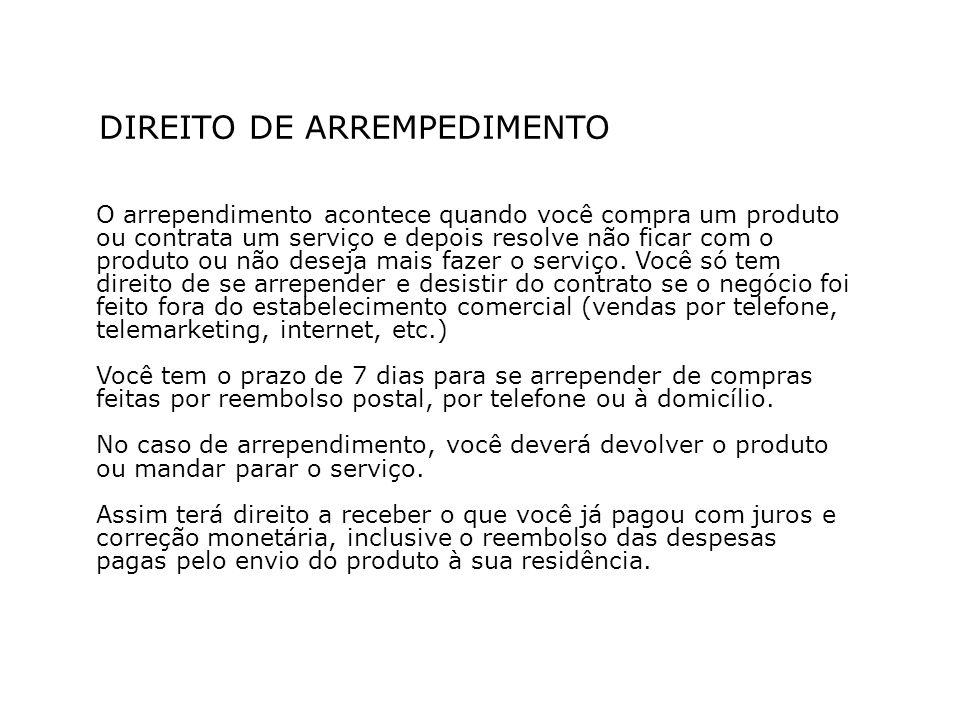 DIREITO DE ARREMPEDIMENTO