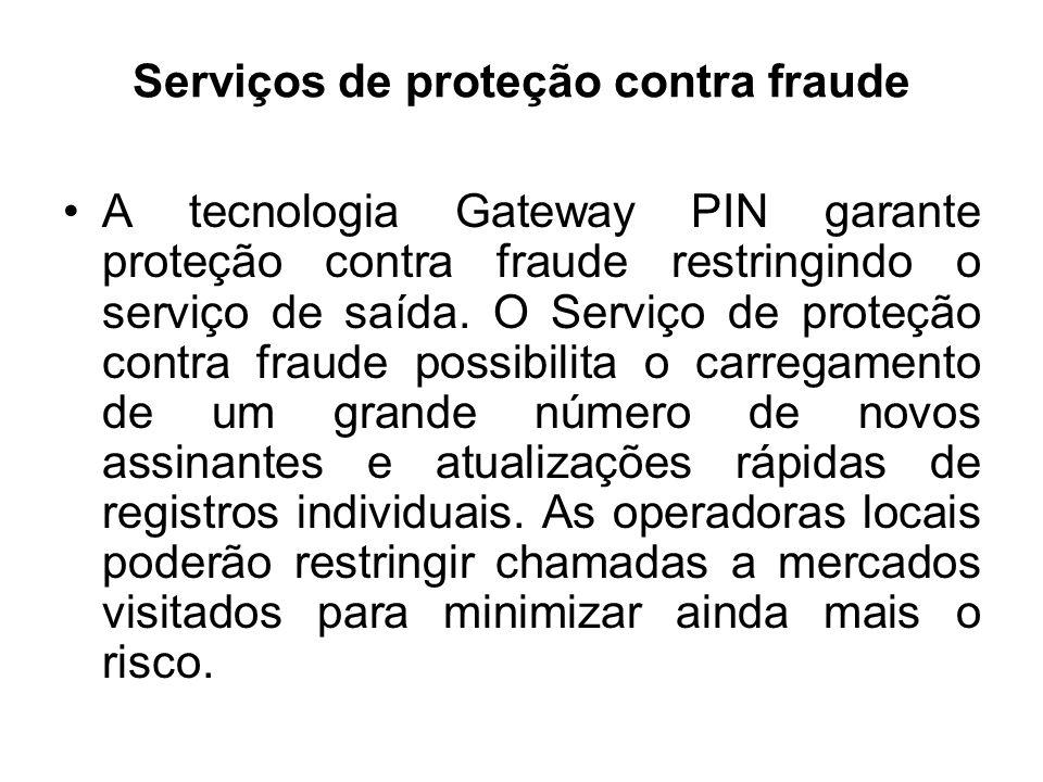 Serviços de proteção contra fraude