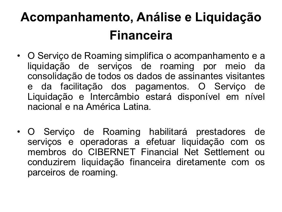 Acompanhamento, Análise e Liquidação Financeira