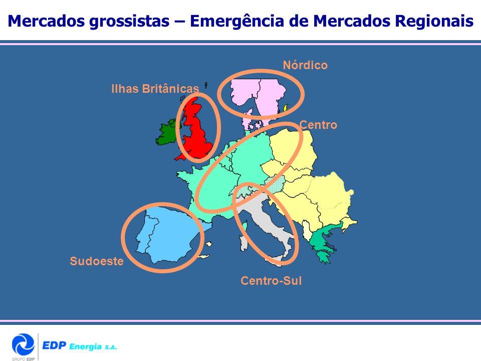 Mercados grossistas – Emergência de Mercados Regionais