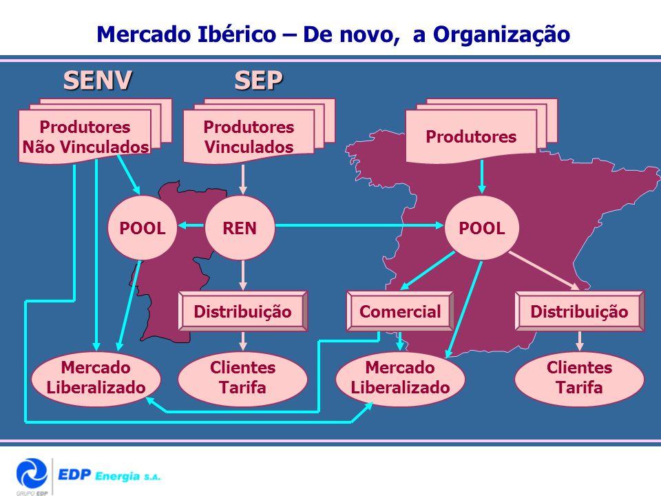 Mercado Ibérico – De novo, a Organização