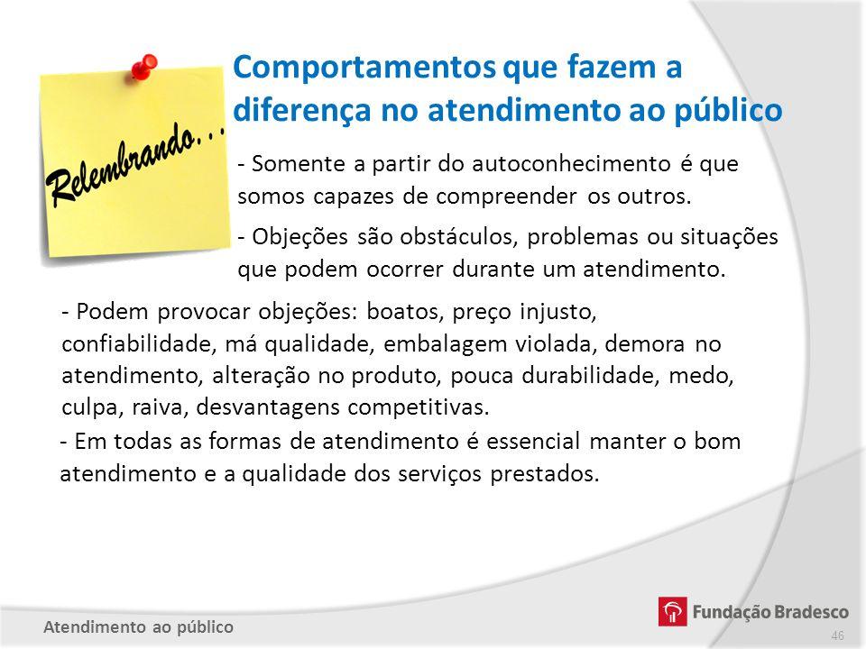 Comportamentos que fazem a diferença no atendimento ao público