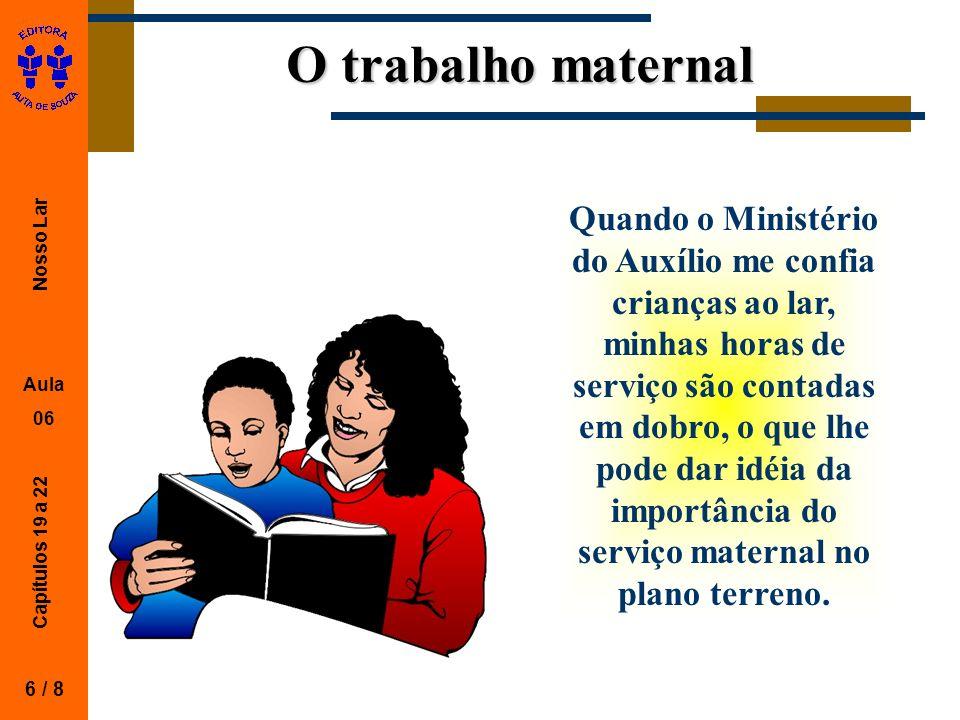 O trabalho maternal