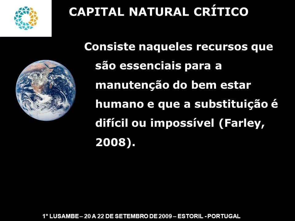 CAPITAL NATURAL CRÍTICO