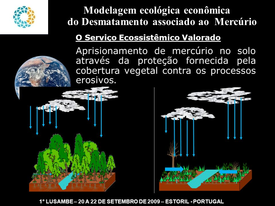 Modelagem ecológica econômica do Desmatamento associado ao Mercúrio