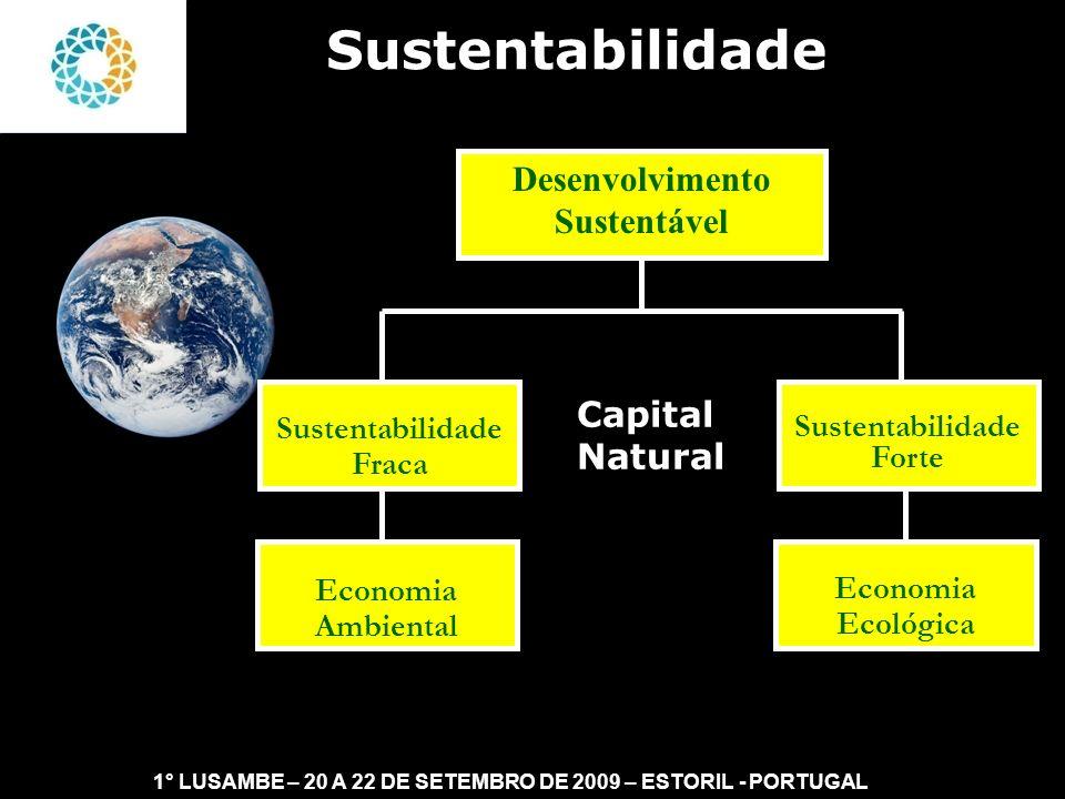 Desenvolvimento Sustentável Sustentabilidade Forte