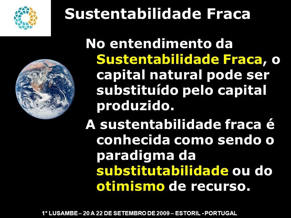 Sustentabilidade Fraca