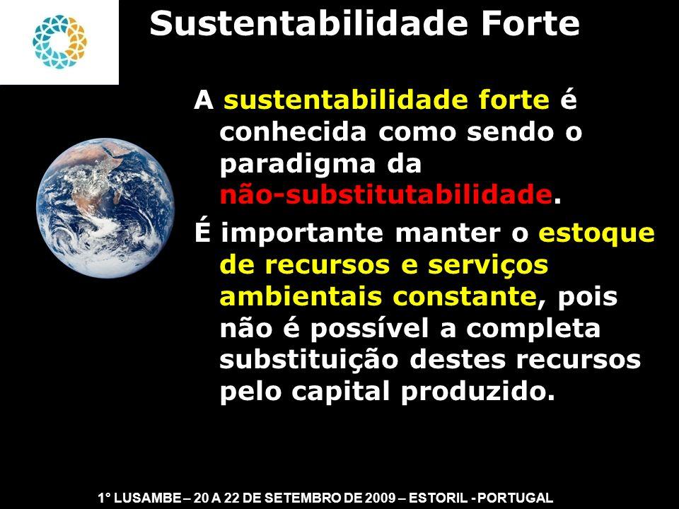 Sustentabilidade Forte