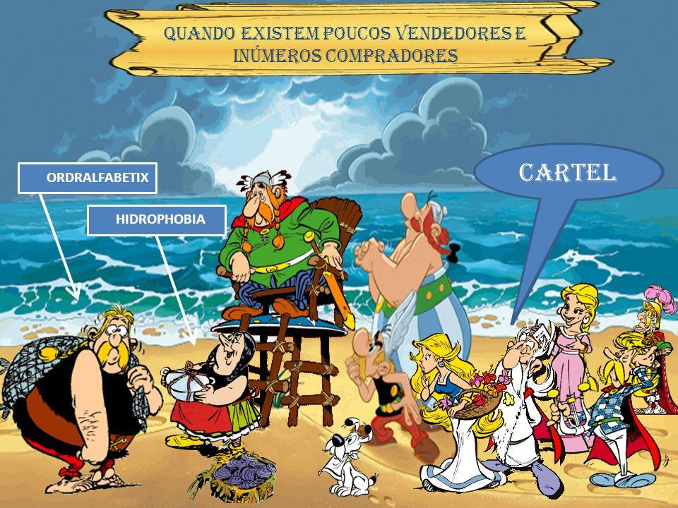 cartel A aldeia ficou com dois vendedores de peixe… Oligopólio