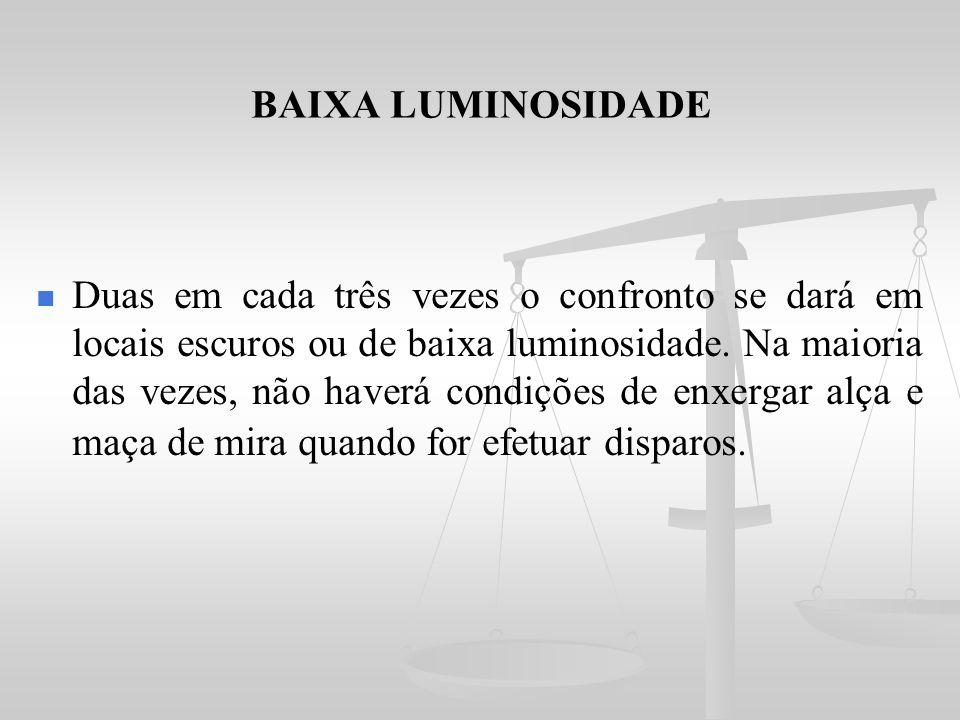 BAIXA LUMINOSIDADE