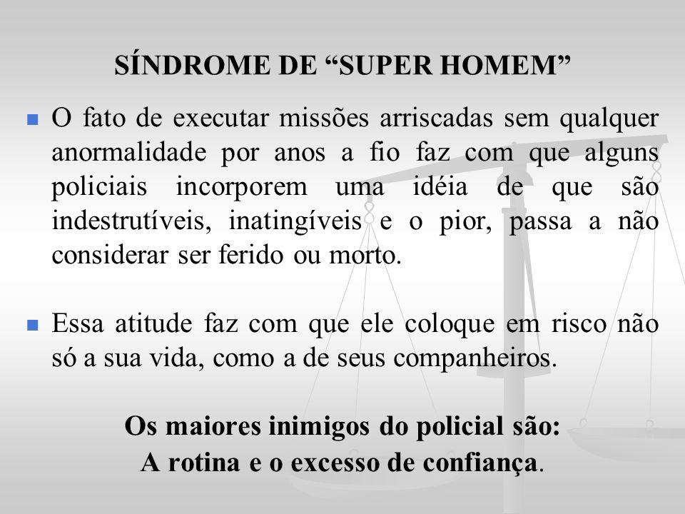 SÍNDROME DE SUPER HOMEM