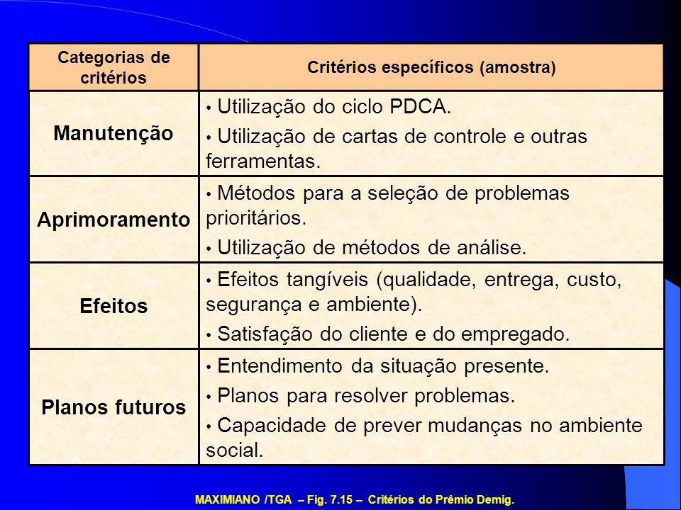 Planos futuros Efeitos Aprimoramento Manutenção