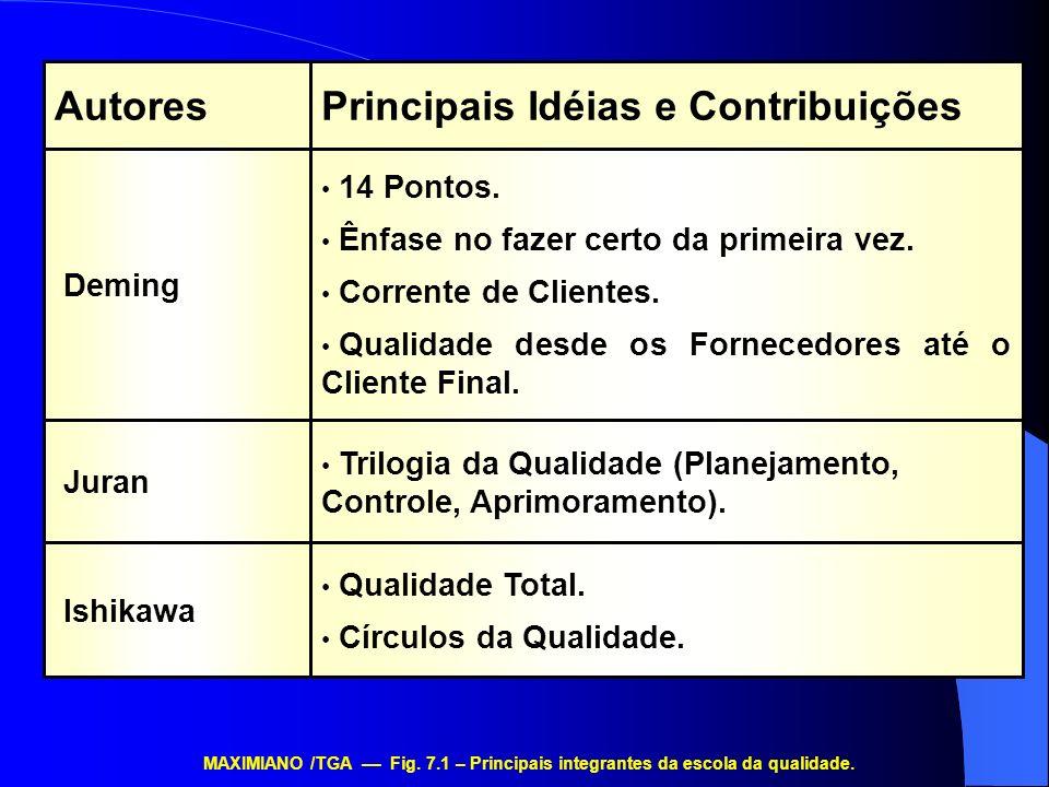 Principais Idéias e Contribuições Autores