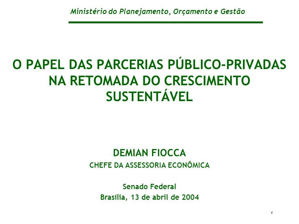 CHEFE DA ASSESSORIA ECONÔMICA