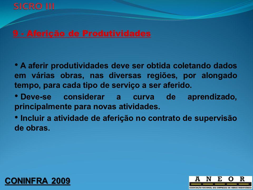9 - Aferição de Produtividades
