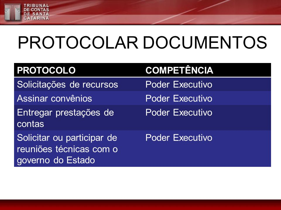 PROTOCOLAR DOCUMENTOS