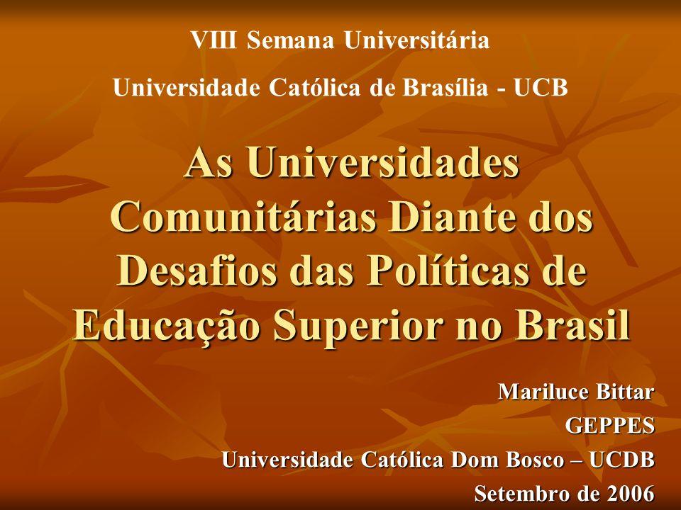 VIII Semana Universitária Universidade Católica de Brasília - UCB