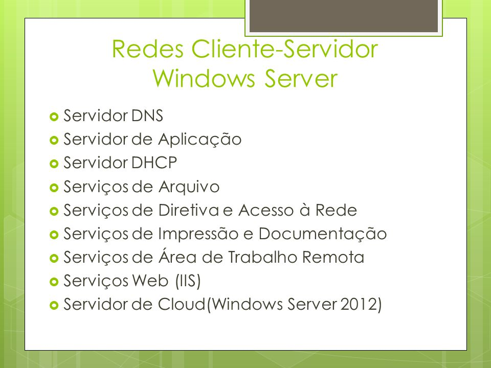 Redes Cliente-Servidor Windows Server