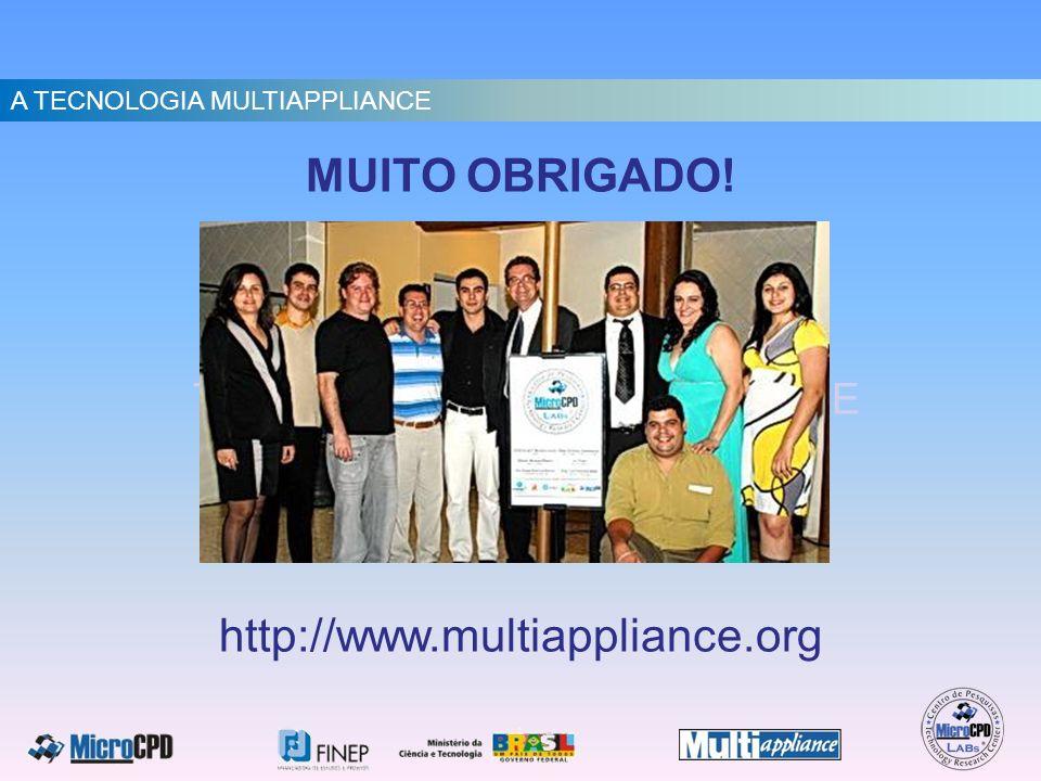 MUITO OBRIGADO! http://www.multiappliance.org