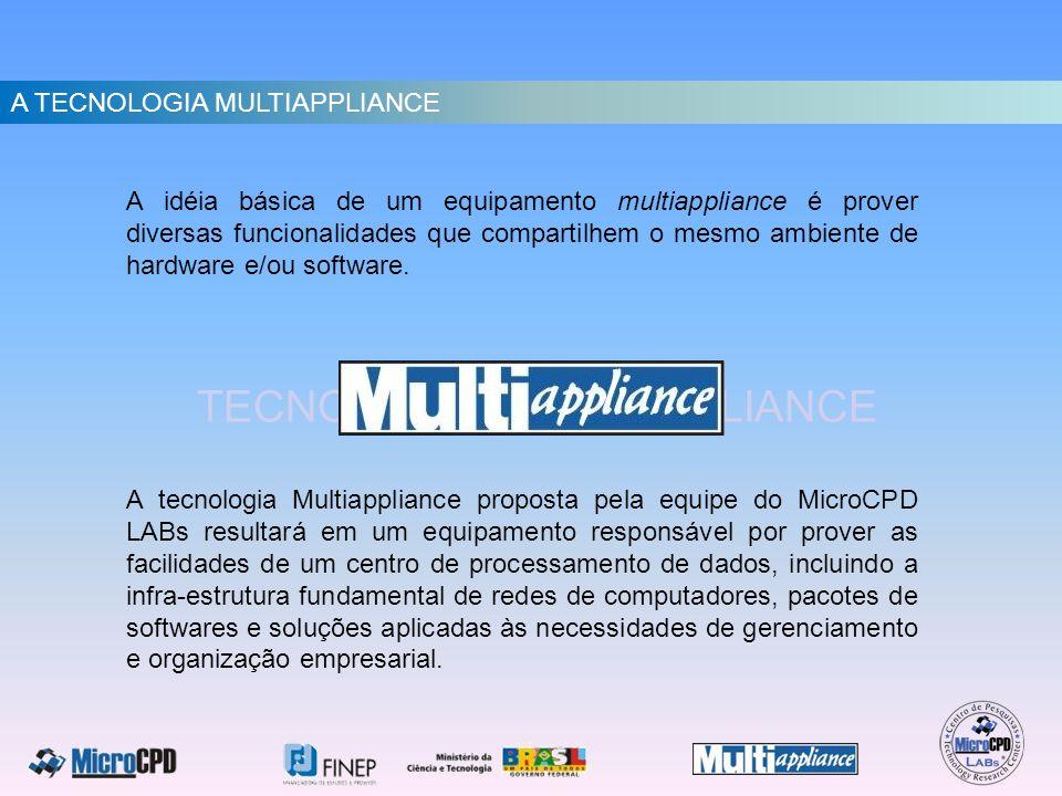 A TECNOLOGIA MULTIAPPLIANCE