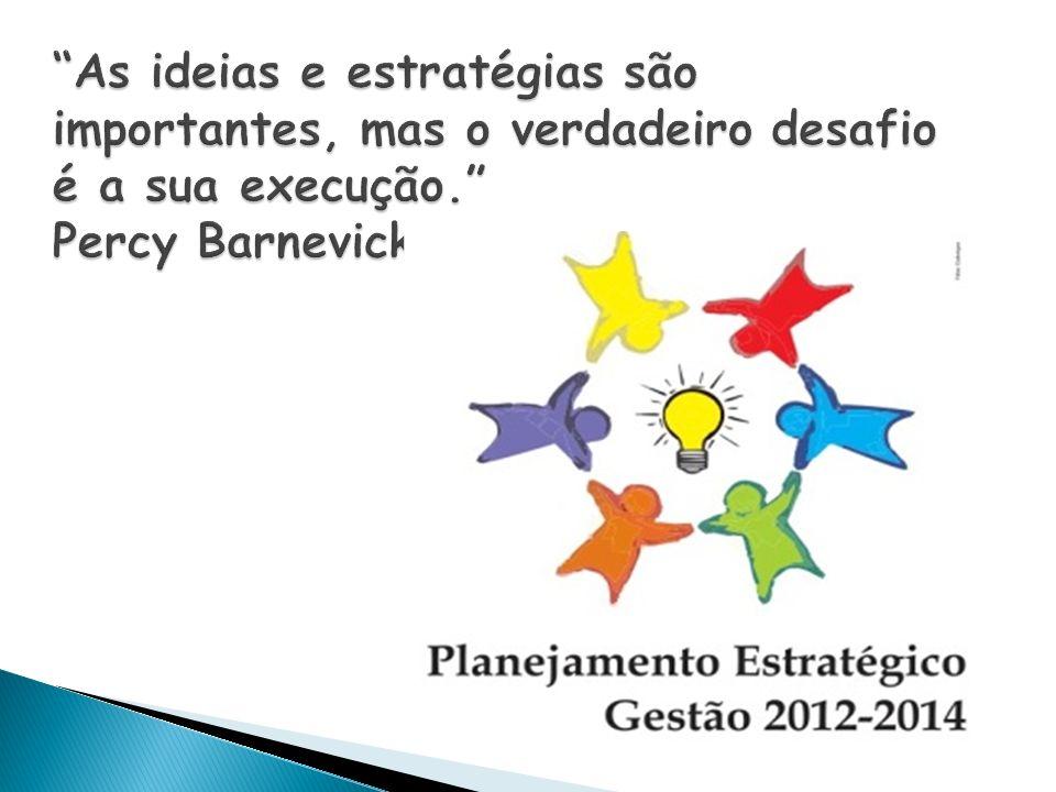 As ideias e estratégias são importantes, mas o verdadeiro desafio é a sua execução. Percy Barnevick