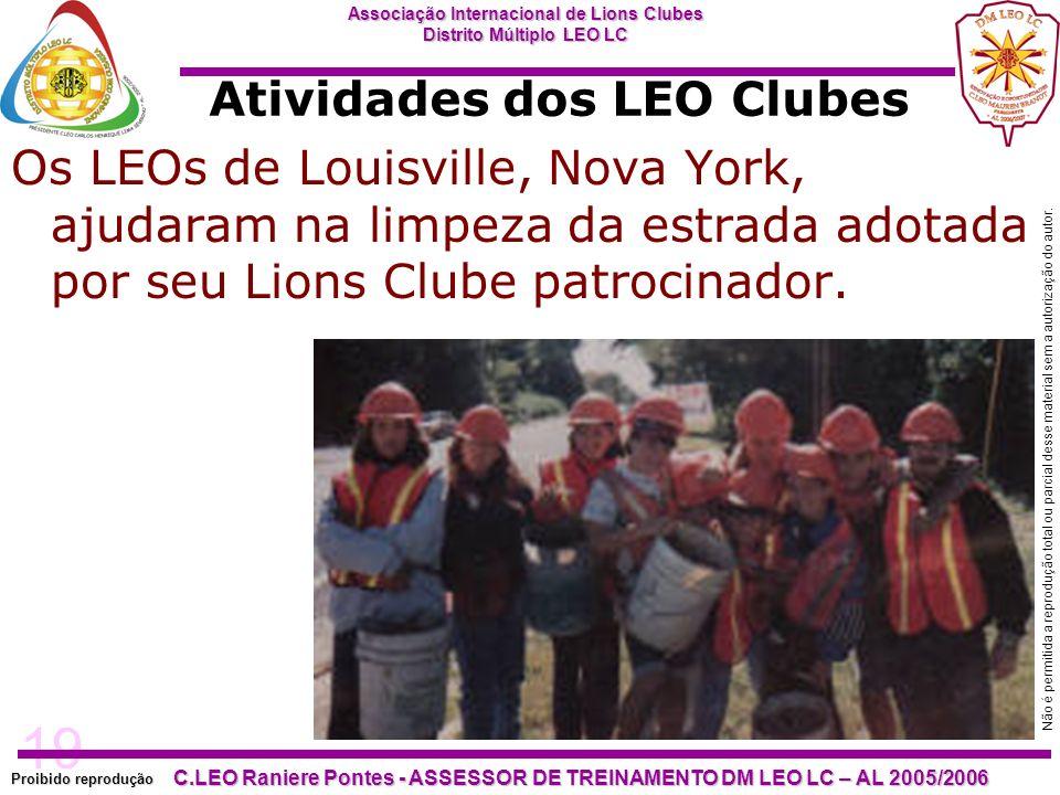 Atividades dos LEO Clubes