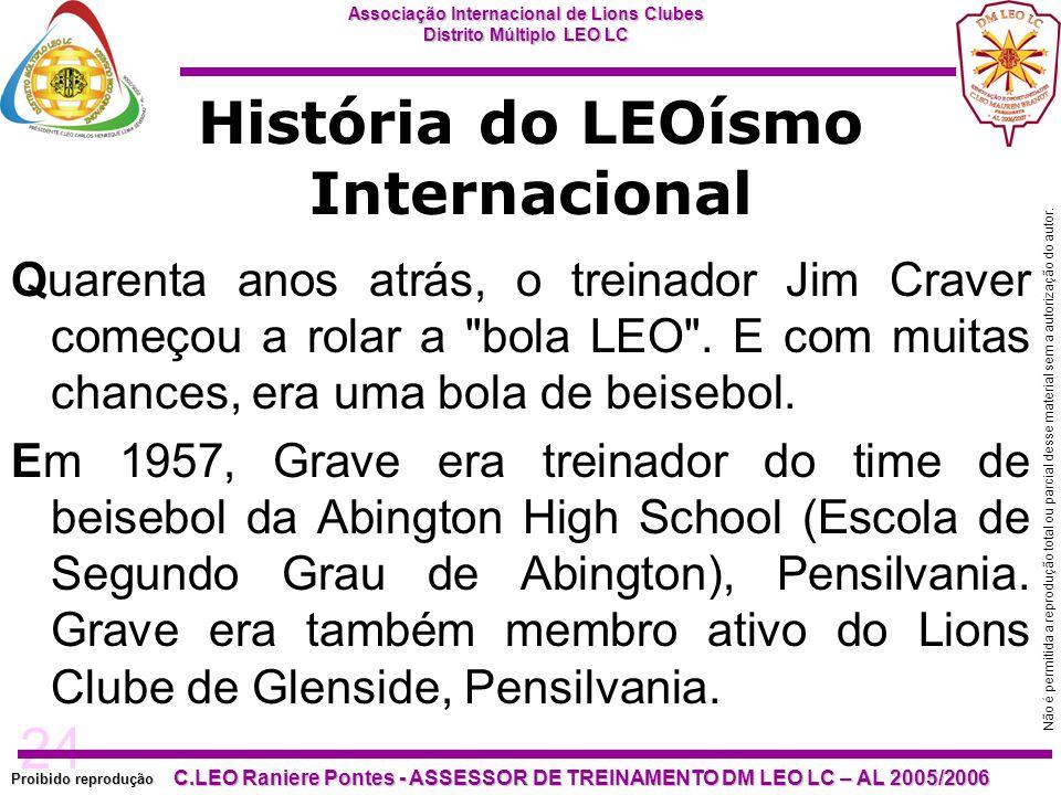 História do LEOísmo Internacional