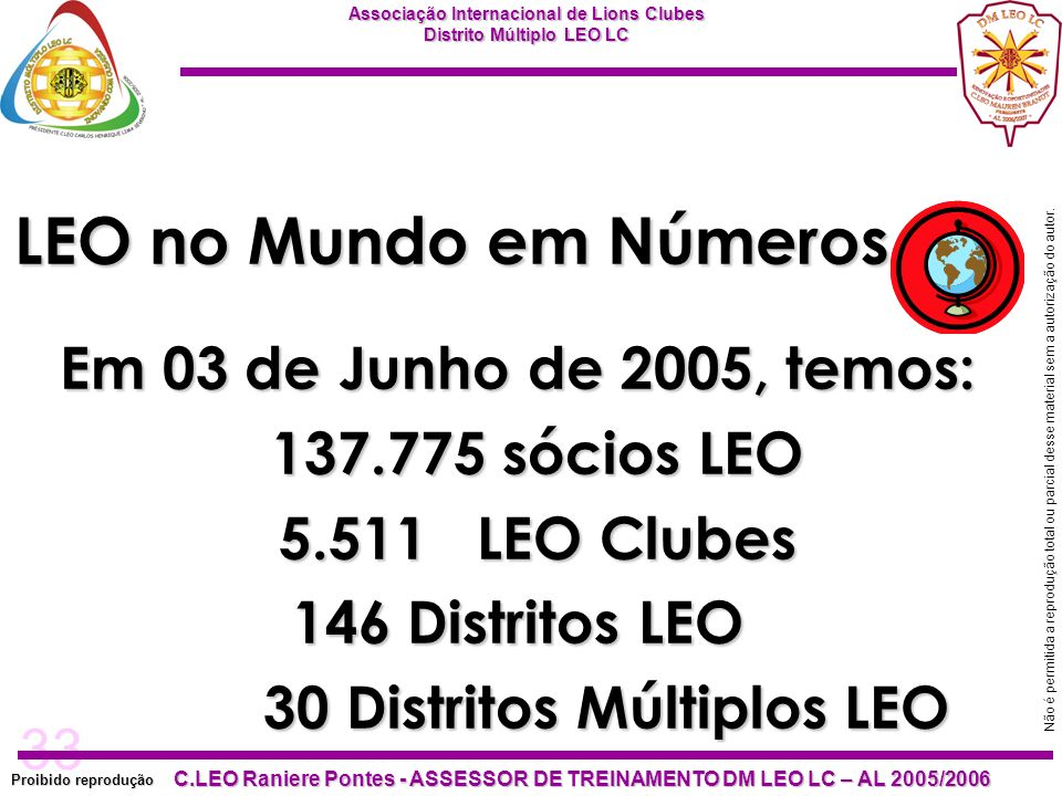 30 Distritos Múltiplos LEO