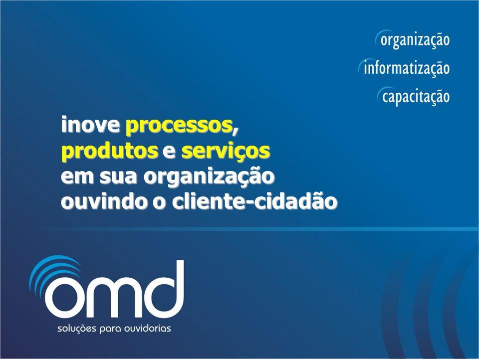inove processos, produtos e serviços em sua organização ouvindo o cliente-cidadão