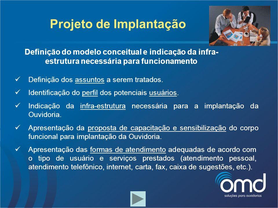 Projeto de Implantação