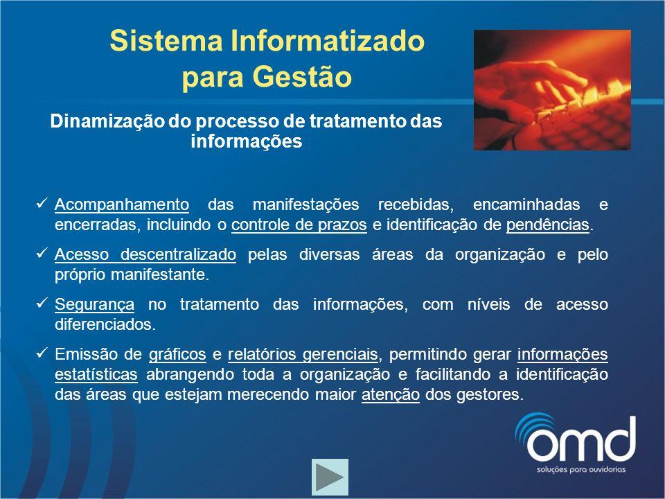 Sistema Informatizado para Gestão