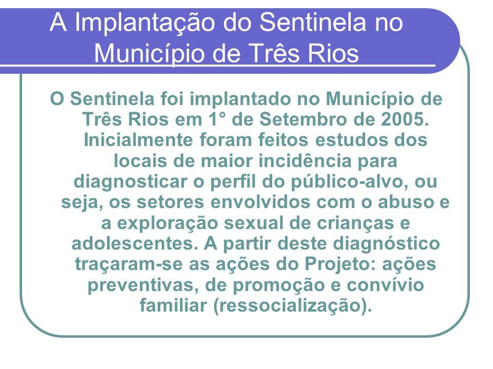 A Implantação do Sentinela no Município de Três Rios