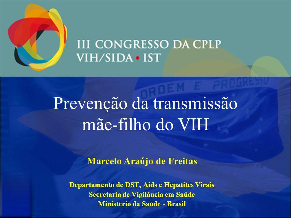Prevenção da transmissão mãe-filho do VIH