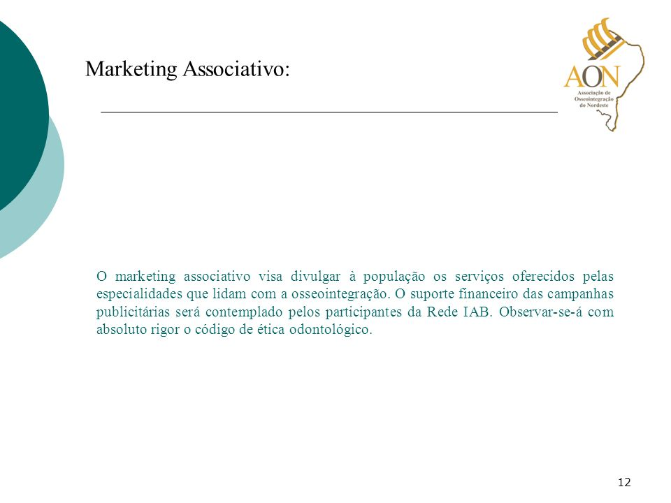 Marketing Associativo:
