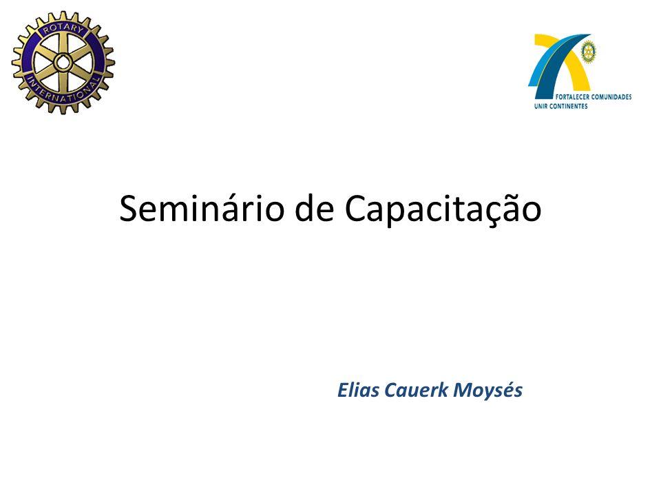 Seminário de Capacitação