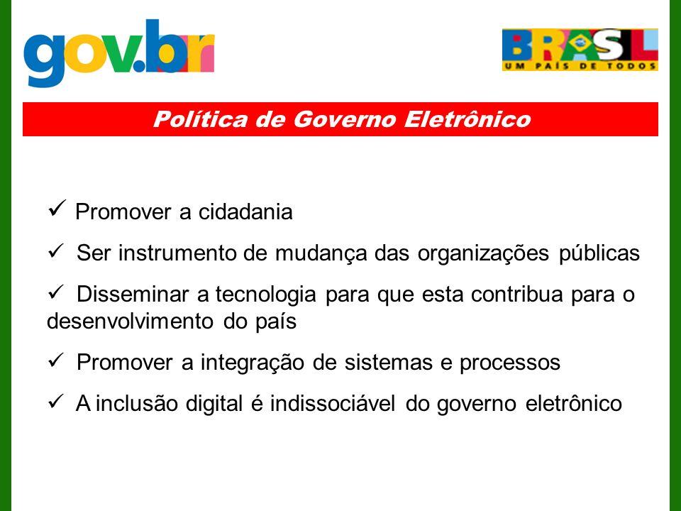 Política de Governo Eletrônico