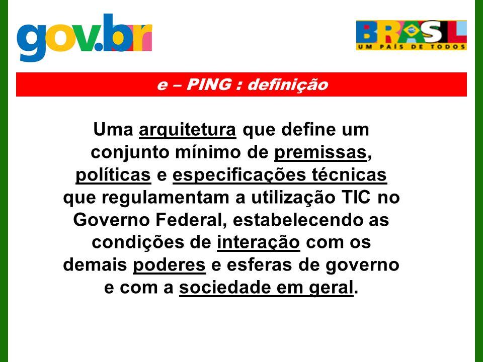 e – PING : definição