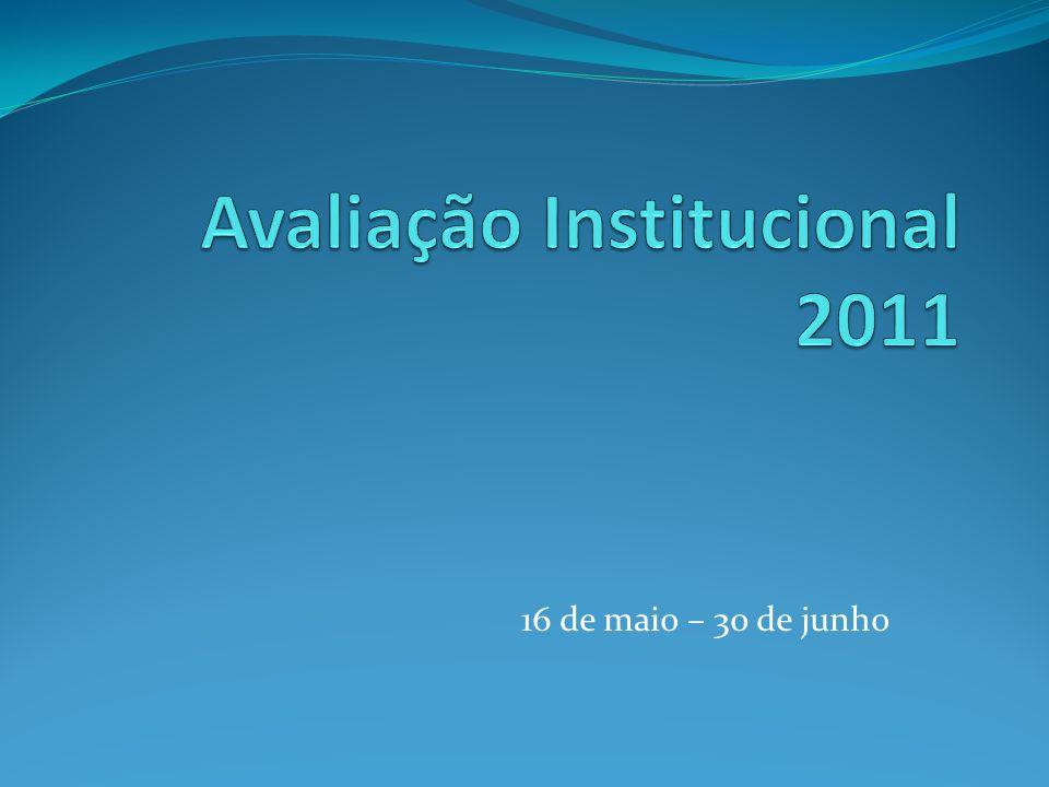 Avaliação Institucional 2011