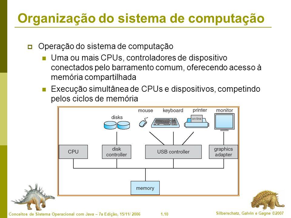 Organização do sistema de computação