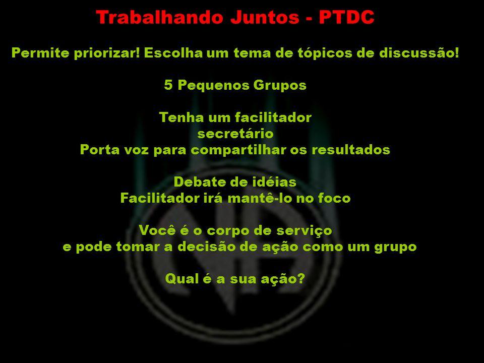 Trabalhando Juntos - PTDC