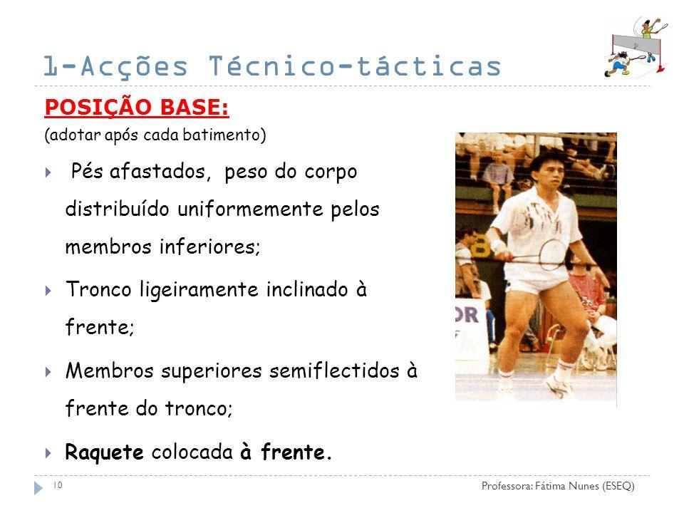 1-Acções Técnico-tácticas