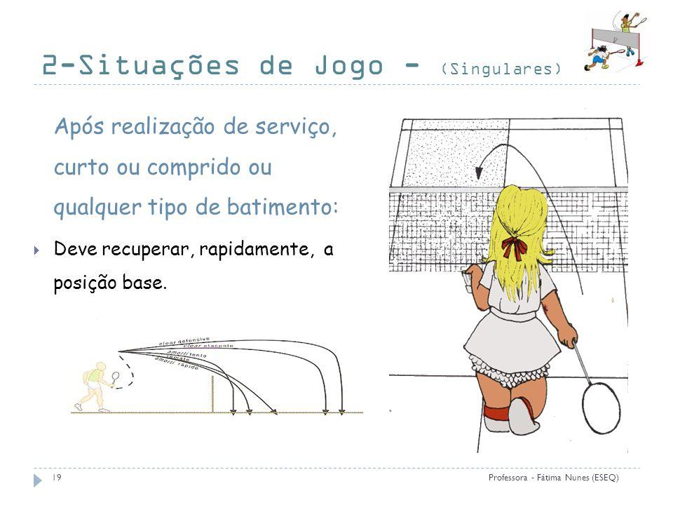 2-Situações de Jogo - (Singulares)