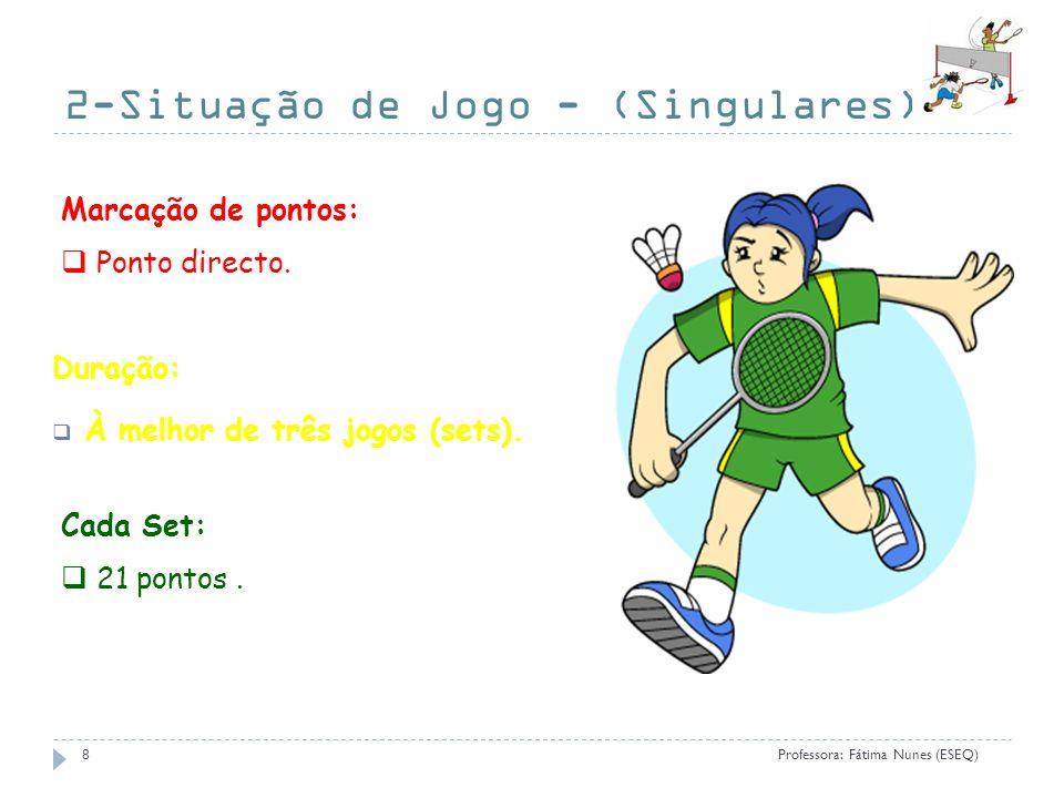 2-Situação de Jogo - (Singulares)